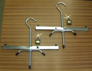Heavy Duty Roof Rack Ladder Clamps
